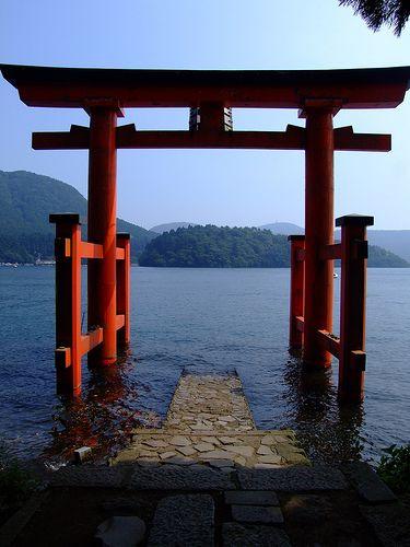 Hakone door by kirainet, via Flickr