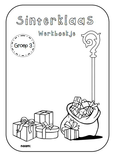 Juf Shanna: Thema Sinterklaas - werkboekje voor groep 3