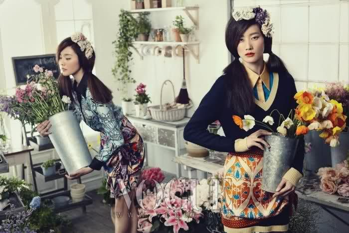 Vogue Korea March 2010 : Kim Tae-hee by Oh Jung-seok