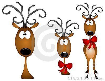 rainder clip art reindeer clipart cartoon reindeer clip art