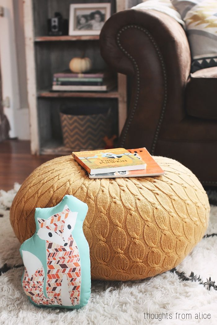 354 best pouffe pillows poofs poufes tuffetts stools images on fall home tour 2014 fall craftsdiy solutioingenieria Gallery