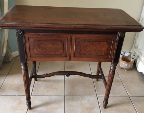 Vintage-Free-Westinghouse-Electric-Sewing-Machine-With-Table-Manual-Accessorie