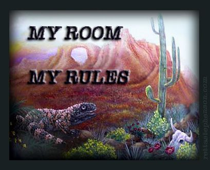 Free Quote Poster From Art By Retta. Humorous, Funny, Rules, Skull, Part 97