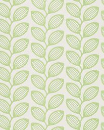 Wallpaper. Retro Leaf Green, Jane Churchill