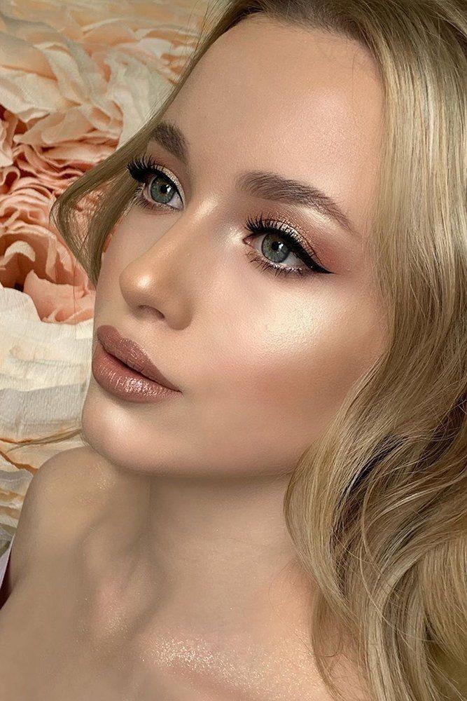 30 Beach Wedding Makeup Chic Ideas | Makeup for green eyes ...