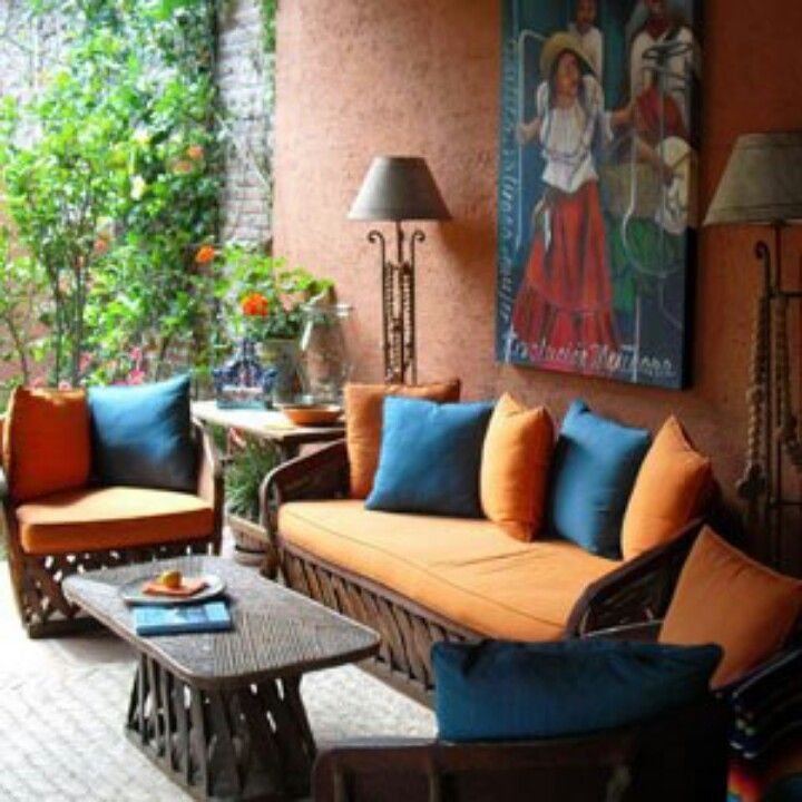 Mexican Patio. See More. Hacienda Style, I Can So See My Self In My  Favorite Pair Of Jeans With