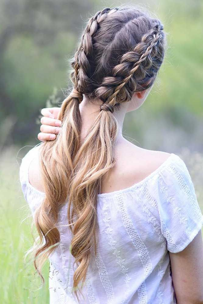 16 Gorgeous Winter Hairstyles For Long Hair Lovehairstyles Com Braided Hairstyles Dutch Braid Hairstyles Long Hair Styles
