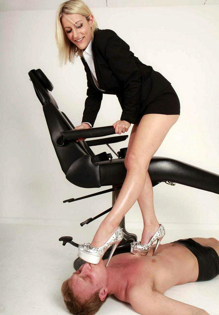 Dominatrix high heels