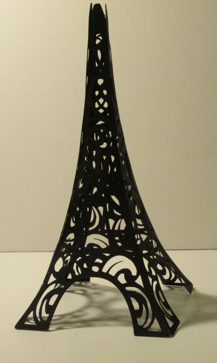 Eiffel Tower Great Cake Topper Or Decoration For French