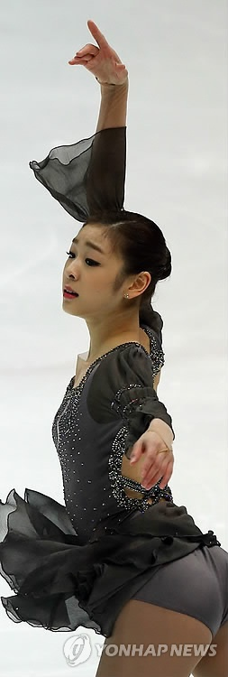 Kim Yuna is a South Korean figure skater (the perfect combination: the beauty of the dress and the fluidity and grace of the Woman...)