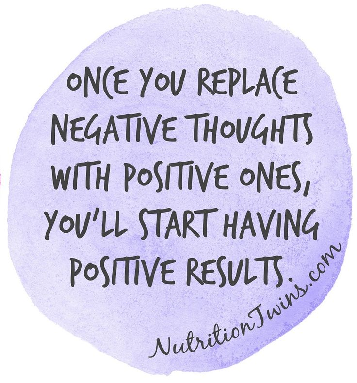 Yaaas! Once You Replace Negative Thoughts with Positive Ones…the world opens up! For MORE Inspiration & RECIPES please SIGN UP for our FREE NEWSLETTER www.NutritionTwins.com