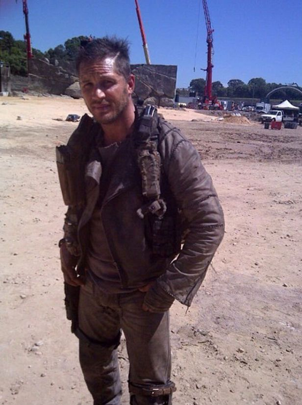Tommy as Max Rockatansky - Mad Max: Fury Road (2015) behind the scenes / TH0040