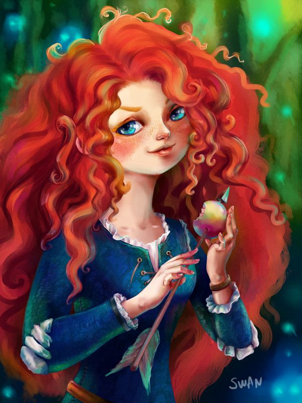 Hd wallpaper and background photos of merida for fans of disney pixar brave images