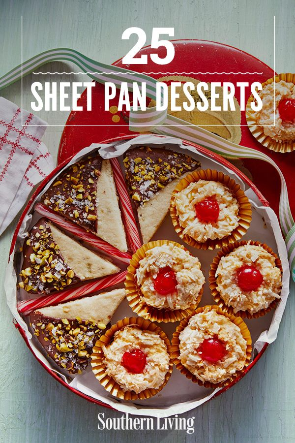 Southern Living Christmas Cookies, 2020 25 Sheet Pan Desserts That'll Feed A Crowd in 2020 | Party cookies