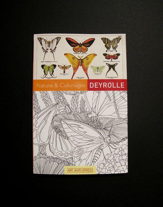 Chloé Fournier: Nature & coloriages - Deyrolle