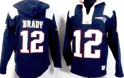 Tom Brady New England Patriots Navy Blue Player Winning Method Pullover Hoodie