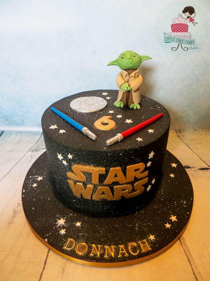 Star Wars Yoda cake www.littlecakefairydublin.com www.facebook.com/littlecakefairydublin