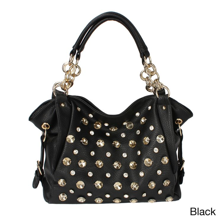Oasis Handbag 'Tori' Studded Shoulder Hobo Bag, Women's
