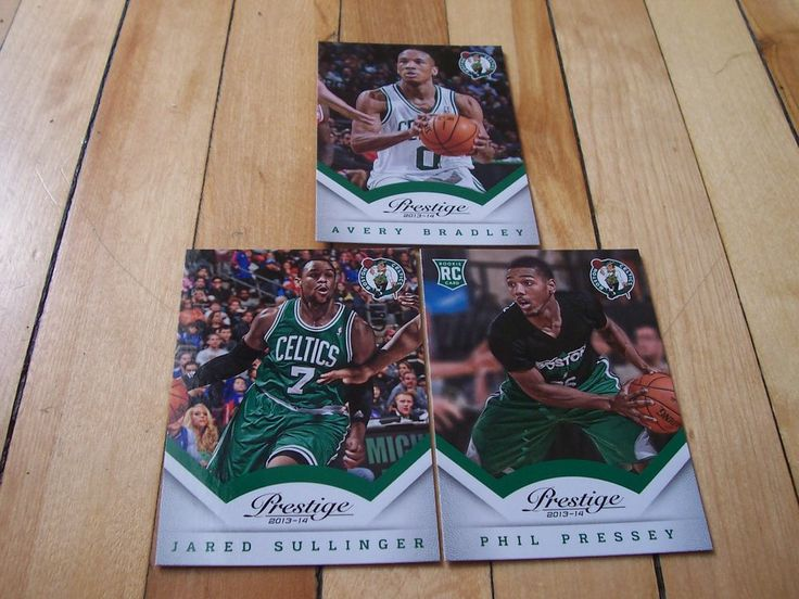 PHIL PRESSEY RC JARED SULLINGER AVERY BRADLEY 2013-14 Prestige Celtics Card Lot