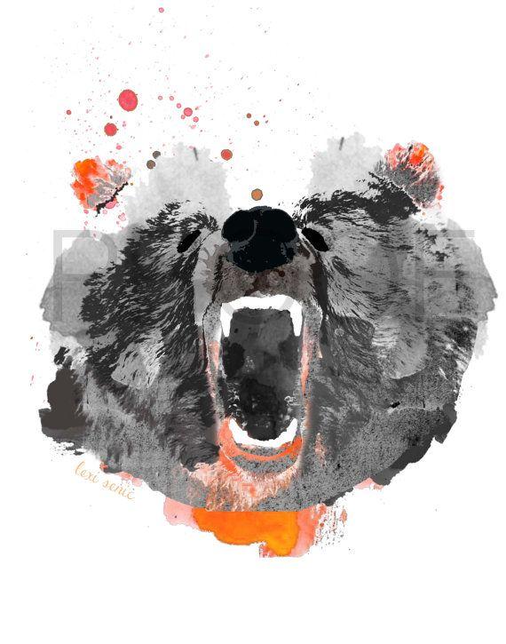 Go Bears Mercer Bear Mercer University Bear by freeinthelines