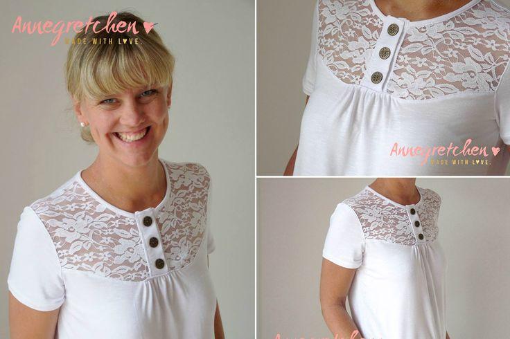 """Shirt """"Marla"""" genäht von Annegretchen: http://www.kreativlaborberlin.de/schnittmuster/shirt-marla/"""
