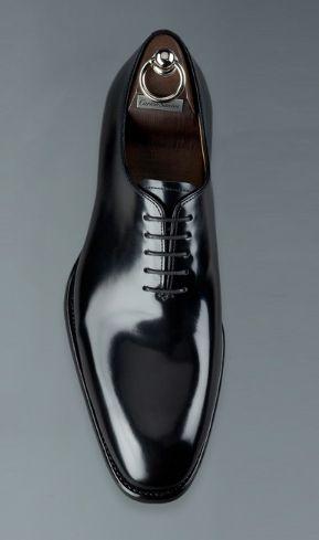 #CarlosSantos Black Tuxedo Shoe #men #mensfashion #menswear #style #outfit #fashion ideas on @lgescamilla