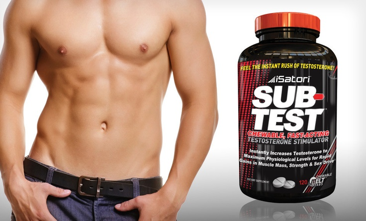 Get going after this deal from iSatori!  Sub-Test testosterone booster is on sale for 65% off $24.99 - free shipping!