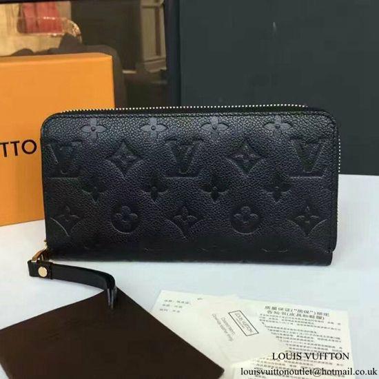 new style 629c0 da2de Louis Vuitton M61864 Zippy Wallet Monogram Empreinte Leather ...