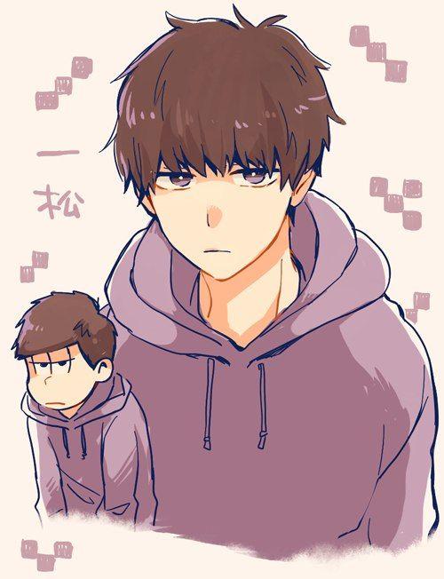 Osomatsu-san Ichimatsu looks cute like this