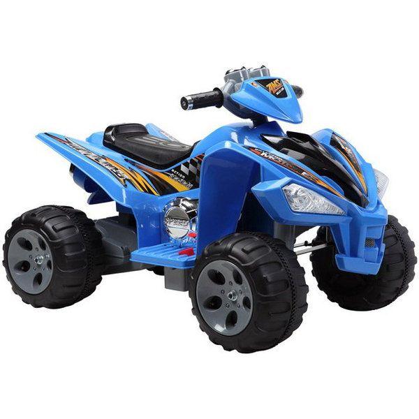 elektrická štvorkolka Raptor modrá 2036