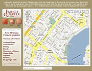 Downloadable French Quarter Maps :  Antique Shops, Art Galleries, Attractions, Dining, Hotels, Music Clubs, Nightlife, Museums & History, Parking, Shopping