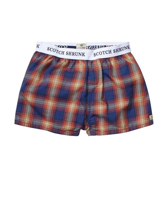 Woven Boxer Shorts With Bag