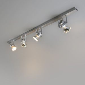 Spot Talis 4 aluminium - Keukenverlichting - Verlichting per ruimte - Lampenlicht.nl