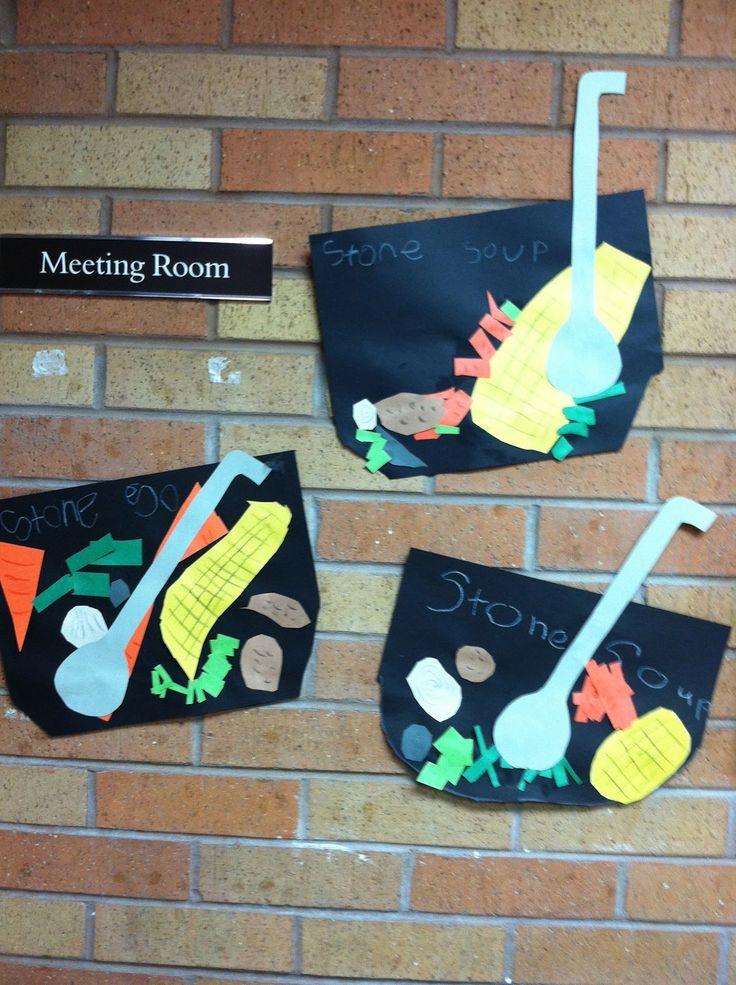 Ms. Solano's Kindergarten Class: Stone Soup