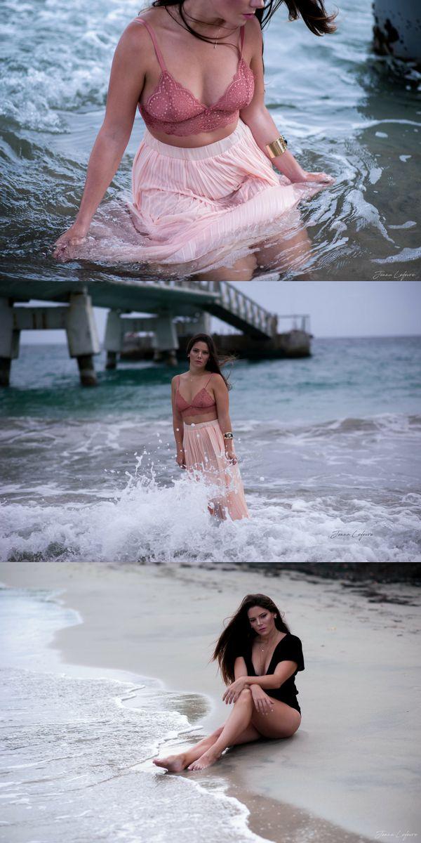 [Visitez mon site jennalefevre.com] Séance Portrait de femme pour la douce Delphine dans les Caraïbes, sur la plage. Photographe spécialisée en portraits de femmes. Make-up. Disponible en Martinique. #jennalefevre #makeup #pregnancy #shooting #martinique