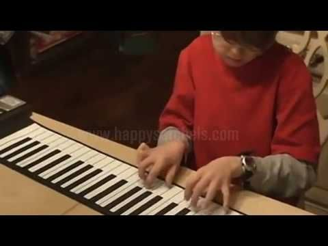 PianoRoll™ Portable Electronic Piano – happysatchels