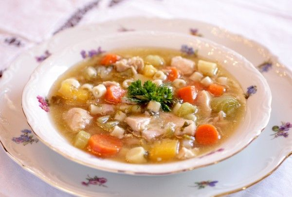 Post image for Skinny Chicken Vegetable Soup – A Recipe for Weight Loss and Fitness