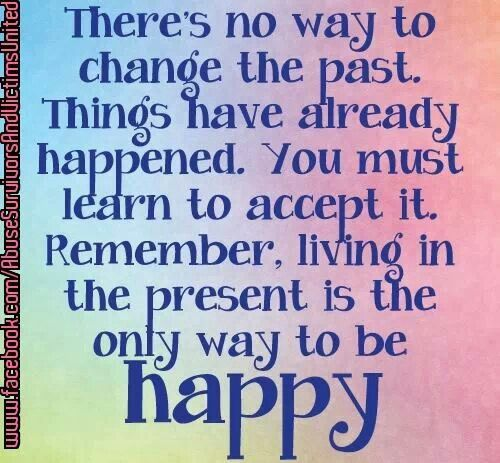 living in the present inspirational quotes words