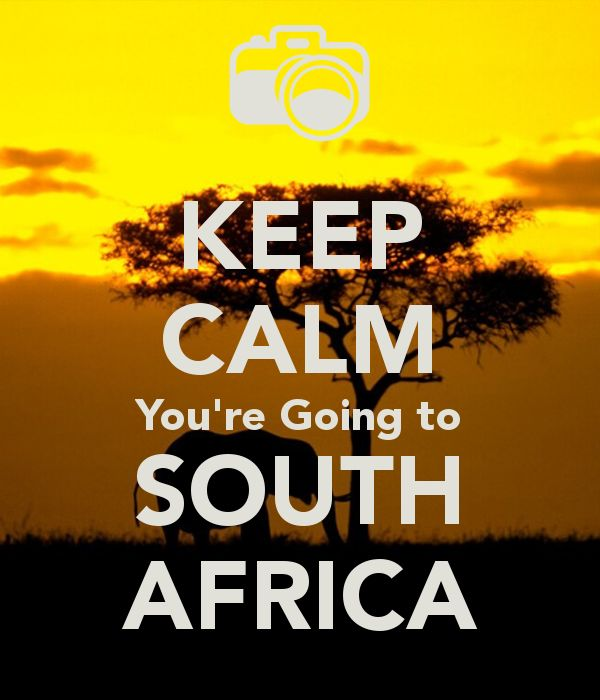 Keep Calm And Go To Africa