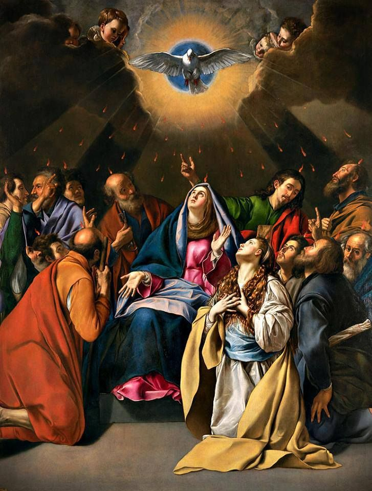 descent of holy spirit at pentecost