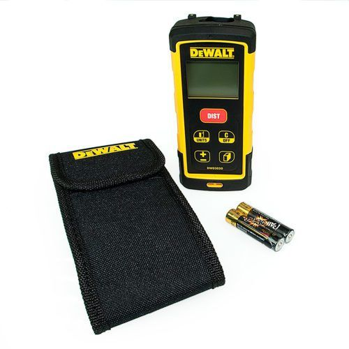 Power Tool Store DEWALT Laser Range Finder DW03050 Disposable battery