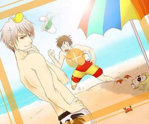 Just take in a moment to see how sexy AND awesome Prussia looks... France what the heck!?!?