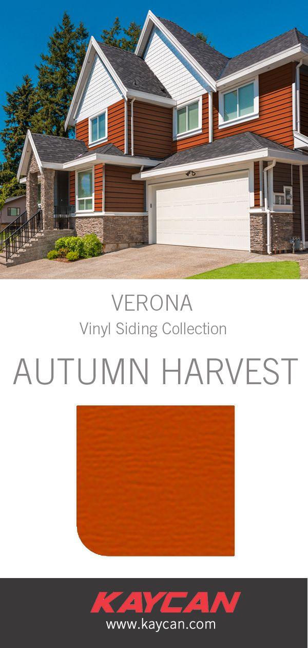 Kaycan Autumn Harvest Siding Exterior House Colors Vinyl Siding House Colors