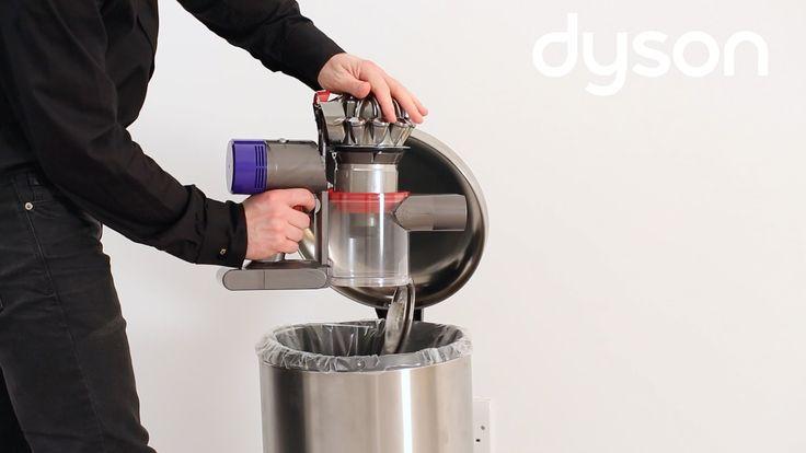 how to empty dyson vacuum dc40