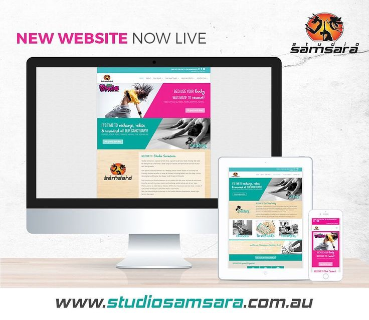 Bit excited to finally be able to share with you all the brand new website that I put together for @studiosamsara