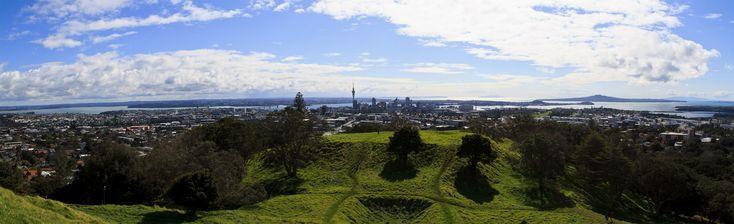 Auckland Skyline Panoramic [PHOTO]