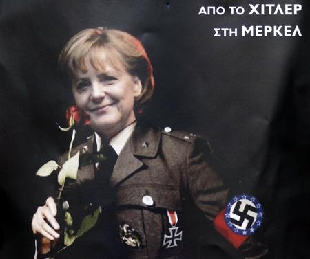 She is the democratic politician.  But are she and German Government the dictator of EU?