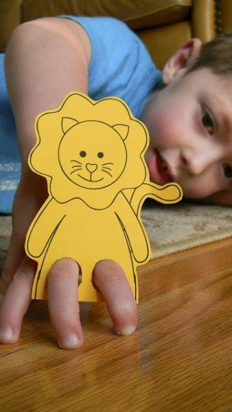 16 patrons gratuits pour fabriquer des marionnettes à doigts! - Bricolages - Des bricolages géniaux à réaliser avec vos enfants - Trucs et Bricolages - Fallait y penser !