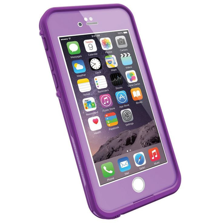 apple iphone 6 colors. lifeproof fre phone case for apple iphone 6❤️purple or pink color iphone 6 colors