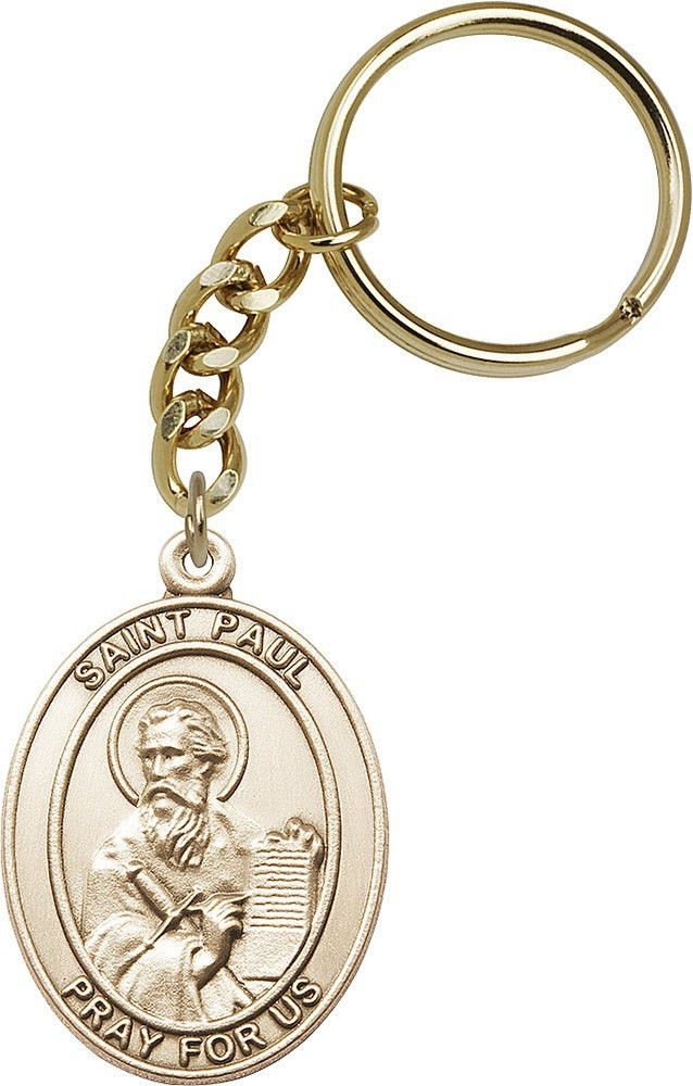 Gold Oxide St. Paul the Apostle Keychain
